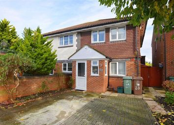 Thumbnail 3 bed semi-detached house to rent in Homeland Drive, Belmont, Sutton