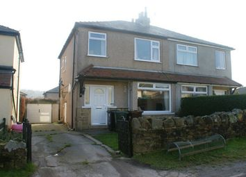 Thumbnail 3 bed semi-detached house for sale in Spring Mount, Long Lee, Keighley, West Yorkshire