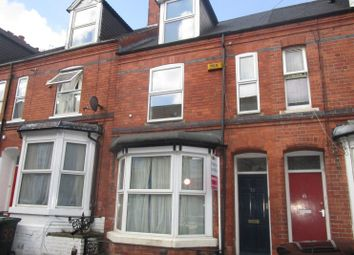 Thumbnail 4 bed terraced house for sale in Birrell Road, Forest Fields, Nottingham, Nottinghamshire