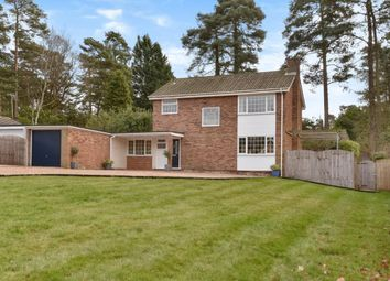 Thumbnail 3 bed detached house for sale in Clewborough Drive, Camberley