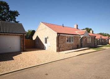 Thumbnail 3 bedroom bungalow for sale in Saffron Close, Watton, Thetford