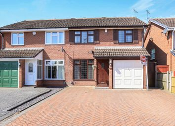 Thumbnail 3 bed semi-detached house for sale in Bittell Close, Moseley Parklands, Wolverhampton