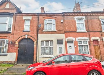 Thumbnail 2 bedroom terraced house for sale in Connaught Street, Leicester