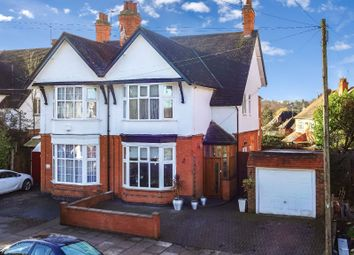 Thumbnail 5 bed semi-detached house for sale in Stoughton Drive North, Evington, Leicester