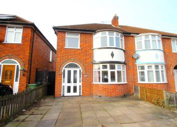 Thumbnail 3 bed semi-detached house for sale in Balmoral Drive, Leicester