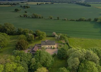 Thumbnail 4 bed detached house for sale in Wymondham Road, Wreningham, Norwich