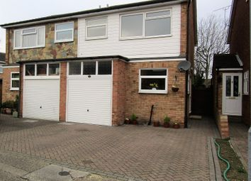Thumbnail 3 bed semi-detached house for sale in Kathleen Close, Stanford-Le-Hope, Essex.