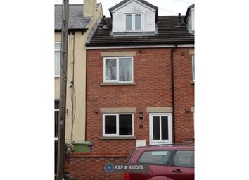 Thumbnail 3 bed terraced house to rent in Sheffield Road, Chesterfield