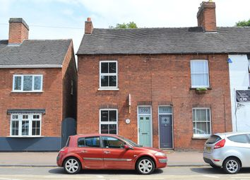 Thumbnail 2 bed end terrace house for sale in Upper St. John Street, Lichfield