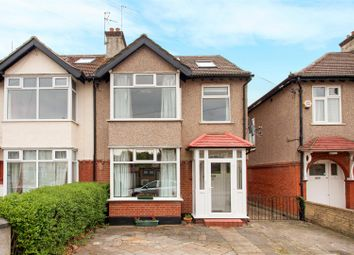 Thumbnail 4 bed semi-detached house for sale in Somerset Avenue, West Wimbledon