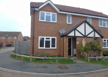 Thumbnail 2 bed semi-detached house for sale in Dean Wood Close, Eastbourne