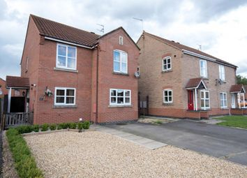 Thumbnail 3 bed detached house for sale in Shackleton Close, Spalding