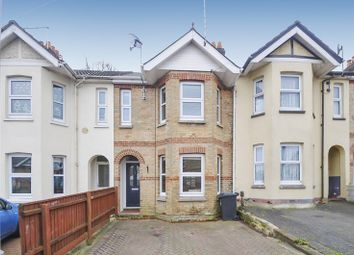 Thumbnail 3 bedroom terraced house for sale in Belmont Road, Parkstone, Poole