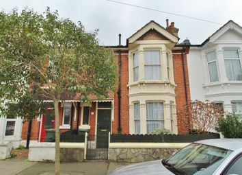 Thumbnail 3 bed terraced house for sale in Lindley Avenue, Southsea