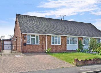 Thumbnail 3 bed semi-detached bungalow for sale in Gorham Close, Snodland, Kent