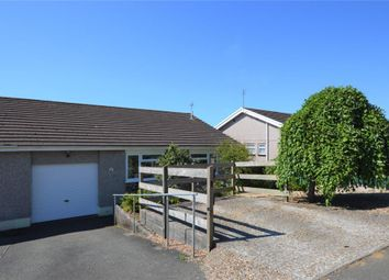 Thumbnail 3 bed semi-detached bungalow for sale in Woodgate Road, Liskeard, Cornwall