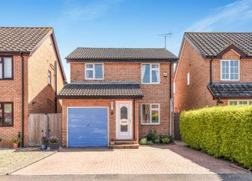 Thumbnail 3 bed detached house for sale in Blenheim Gardens, Grove, Wantage