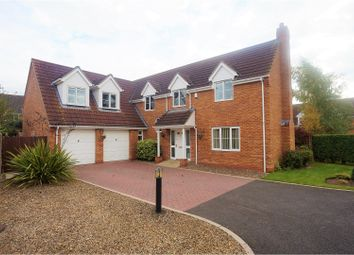 Thumbnail 4 bed detached house for sale in Ballerini Way, Saxilby