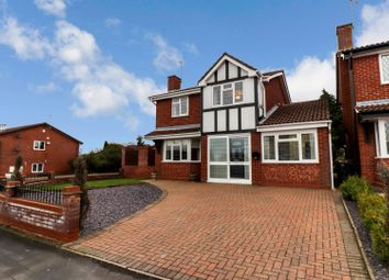 Thumbnail 4 bed detached house for sale in Hilliard Close, Bedworth