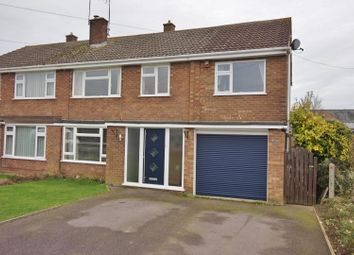 Thumbnail 5 bed semi-detached house for sale in Stockerston Crescent, Uppingham, Oakham
