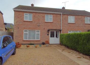 Thumbnail 3 bed semi-detached house for sale in Knights Close, Billesdon, Leicester, Leicestershire