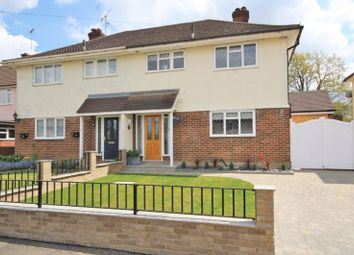 Thumbnail 3 bed semi-detached house for sale in Abbots Close, Shenfield, Brentwood