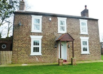 Thumbnail 4 bed detached house to rent in Fen Lane, Grainthorpe, Louth