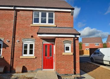 Thumbnail 2 bedroom semi-detached house to rent in Juno Close, Hinckley, Leicestershire
