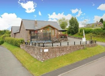 Thumbnail 6 bed detached bungalow for sale in Castle Lodge, Sennybridge