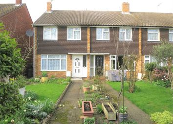 Thumbnail 3 bed end terrace house for sale in Rowlands Close, Cheshunt, Waltham Cross, Hertfordshire