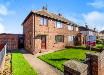 Thumbnail 3 bed semi-detached house for sale in Wilberforce Road, Clay Lane, Doncaster