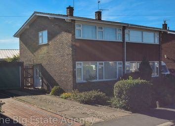 Thumbnail 3 bed semi-detached house for sale in Wynnstay Road, Broughton