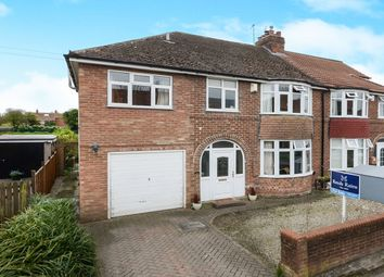 Thumbnail 5 bedroom semi-detached house for sale in Alexander Avenue, Huntington, York