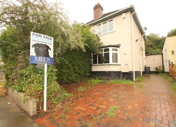 Thumbnail 2 bed semi-detached house for sale in Reservoir Road, Selly Oak, Birmingham