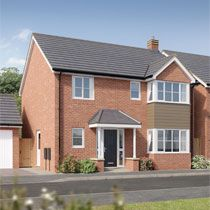 Thumbnail 4 bed detached house for sale in Russell Grove, Werrington, Staffordshire