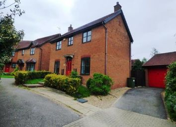 Thumbnail 3 bed detached house for sale in Upper Wood Close, Shenley Brook End, Milton Keynes