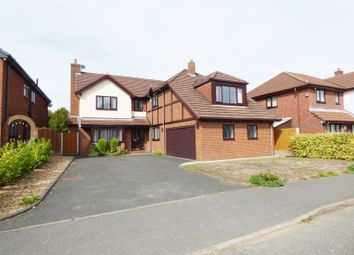 Thumbnail 6 bed detached house for sale in Newlyn Gardens, Penketh, Warrington