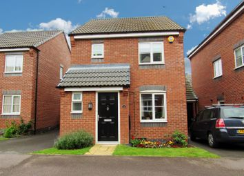 Thumbnail 3 bedroom detached house for sale in Hoffler Close, Countesthorpe, Leicester
