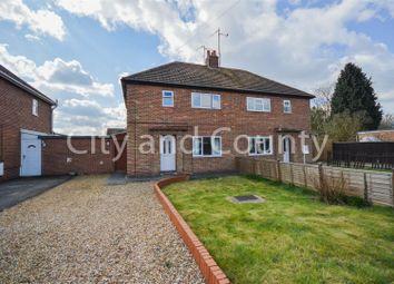 Thumbnail 2 bed semi-detached house for sale in Alderlands Close, Crowland, Peterborough