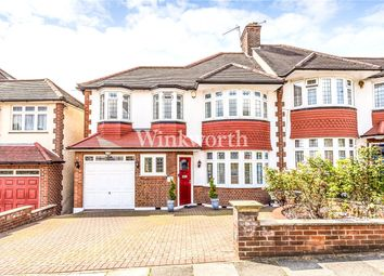 5 bed semi-detached house for sale in Morton Way, Southgate, London N14