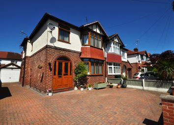 Thumbnail 3 bed semi-detached house for sale in Oaklea Avenue, Hoole, Chester