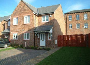 Thumbnail 3 bedroom semi-detached house to rent in Coogan Close, Carlisle