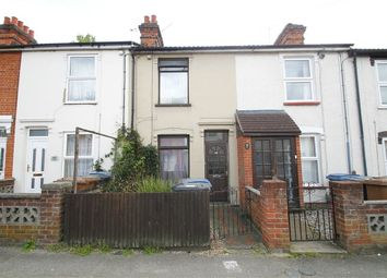 Thumbnail 3 bedroom terraced house for sale in Cromer Road, Ipswich, Suffolk
