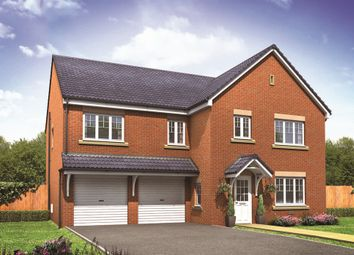 "Thumbnail 5 bed detached house for sale in ""The Compton"" at Wellington Road, Church Aston, Newport"