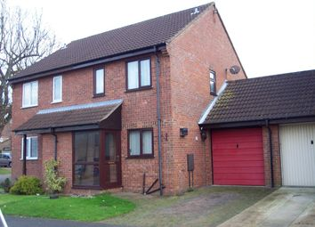 Thumbnail 2 bed semi-detached house to rent in Wainford Close, Worlingham, Beccles