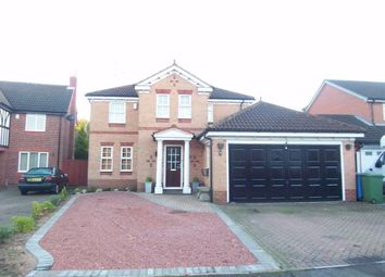 Thumbnail 4 bed detached house to rent in Arun Dale, Mansfield Woodhouse, Mansfield