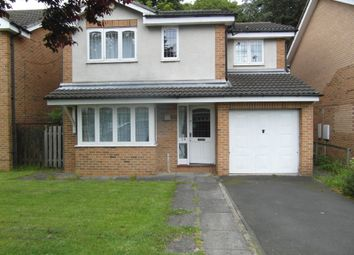Thumbnail 4 bed detached house to rent in Yeavering Close, Gosforth