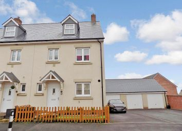 Thumbnail 4 bedroom end terrace house for sale in Ffordd Y Draen, Coity, Bridgend.