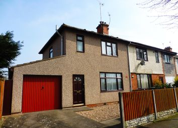 Thumbnail 3 bed semi-detached house for sale in Butlin Road, Rugby