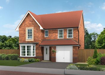"""Thumbnail 4 bed detached house for sale in """"Heathfield"""" at Bawtry Road, Bessacarr, Doncaster"""